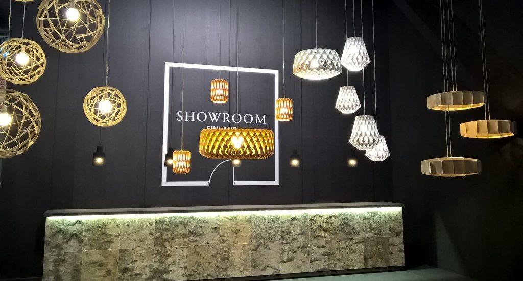 Showroom Finland @ Euroluce 2015 Milan c