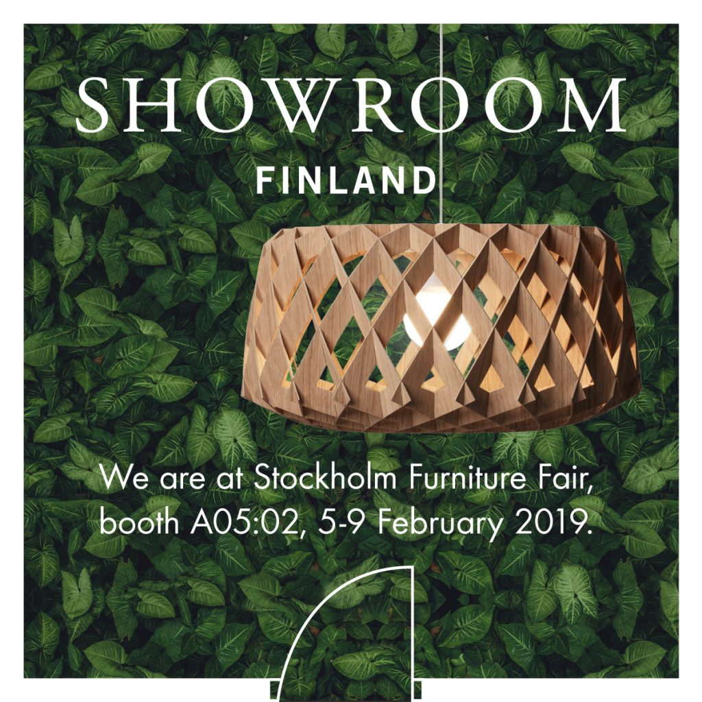 Showroom at Stockholm Furniture Fair